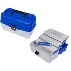 Ящик рыболовный пластиковый Salmo 3х-пол. 023 - фото 21379