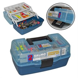 Ящик рыболовный пластиковый Salmo 2х-пол. 02 мал. - фото 22760