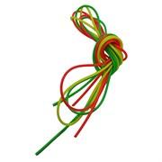 Кембрики силиконовые цветные 025 набор