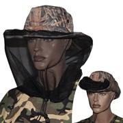 Шляпа-Ковбойка с антимоскитной сеткой Камыш р.60-62