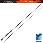 Удилище спиннинговое Salmo Diamond JIG 25 2.28