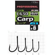 Крючки Cobra Pro CARP сер.C630 разм.006 9шт.