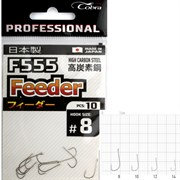 Крючки Cobra Pro FEEDER сер.F555 разм.014 10шт.