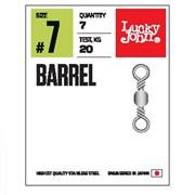 Вертлюги LJ Pro Series BARREL 007 7шт.