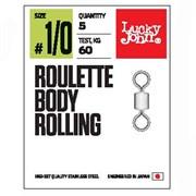 Вертлюги LJ Pro Series ROULETTE BODY ROLLING 004 8шт.