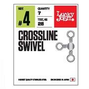 Вертлюги трехстор. LJ Pro Series CROSSLINE SWIVEL 012 10шт.
