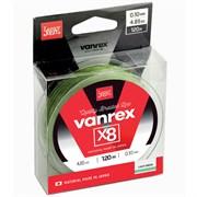 Леска плетёная Lucky John Vanrex х8 Light Green 120/013