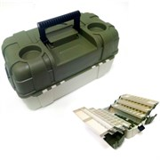 Ящик рыболовный пластиковый Salmo 6ти-полочный 06