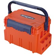 Ящик рыболовный Meiho BUCKET MOUTH BM-5000 Orange 440×293 ×293