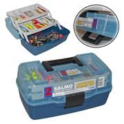 Ящик рыболовный пластиковый Salmo 2х-пол. 02 мал.